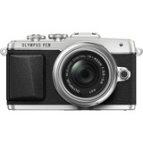 Olympus PEN E-PL7 16.1 Megapixel Mirrorless Camera with Lens (Body with Lens Kit) - 14 mm - 42 mm - Silver V205071SU000