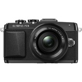Olympus PEN E-PL7 16.1 Megapixel Mirrorless Camera with Lens - 14 mm - 42 mm - Black