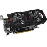 Asus R7260X-OC-2GD5 Radeon R7 260X Graphic Card - 1075 MHz Core - 2 GB GDDR5 SDRAM - PCI Express 3.0 R7260X-OC-2GD5