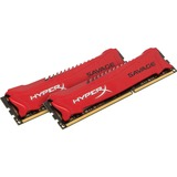 Kingston HyperX Savage Memory Red - 16GB Kit (2x8GB) - DDR3 1866MHz Intel XMP