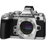 Olympus OM-D E-M1 16.3 Megapixel Mirrorless Camera (Body Only) - Silver V207010SU000