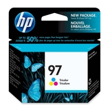 HP 97 Tri-color Inkjet Print Cartridge C9363WC#140