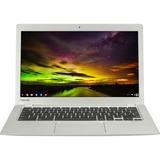 """Toshiba Chromebook CB30-B-00F 13.3"""" LED Notebook - Intel Celeron N2840 2.16 GHz - Blast Silver PLM02C-00F00C"""