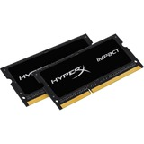 Kingston HyperX Impact SODIMM - 16GB Kit (2x8GB) - DDR3L 2133MHz