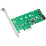 SYBA Multimedia NGFF/SSD To SATA/PCI-E Card