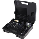 Brother PC-Connectable Label Maker with Color Display and Carry Case