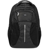 "Lorell Carrying Case (Backpack) for 15.6"" Notebook, Bottle, Accessories, iPad - Black"