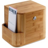 Safco Bamboo Suggestion Box