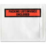 Sparco Pre-Labeled Waterproof Packing Envelopes 41926