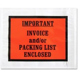 Sparco Pre-labeled Important Invoice Envelopes 41928