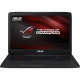 """ROG G751JT-DH72-CA 17.3"""" (In-plane Switching (IPS) Technology) Notebook - Intel Core i7 i7-4710HQ 2.50 GHz - Black G751JT-DH72-CA"""