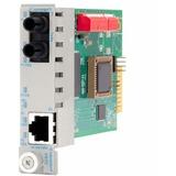 iConverter 10/100/1000 Gigabit Ethernet Fiber Media Converter ST Multimode 550m Module