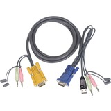 IOGEAR KVM USB Cable With Audio