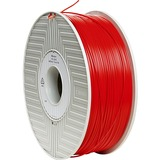 Verbatim ABS 3D Filament 1.75mm 1kg Reel - Red - TAA Compliant