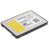 StarTech M.2 SSD to 2.5in SATA III Adapter - NGFF Solid State Drive Converter with Protective Housing