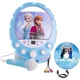 Sakar Frozen Disco Party CD+G Karaoke with Light