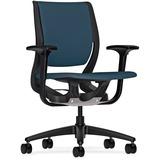 HON Purpose Coll Black Frame Flexing Task Chair W101ONCU90