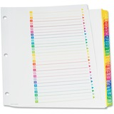 TOPS RapidX Colour Coded Monthly Index Dividers