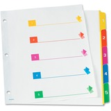 TOPS RapidX 5 & 8 Tab Super Colour Coded Dividers