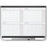 Quartet Prestige Total-erase Four-month Calendar 20124