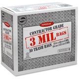 Supersak Contractor Grade 3 Mil Trash Bags