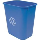 Storex Washable 28qt Plastic Waste Basket