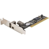 StarTech.com 3 Port PCI Low Profile 1394a FireWire Adapter Card PCI1394_2LP