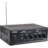Pyle Mini Blue PTA22BT Amplifier - 40 W RMS - 2 Channel