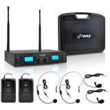 Pyle PDWM3365 Wireless Microphone System