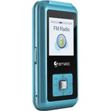 Ematic EM208VID 8 GB Blue Flash Portable Media Player