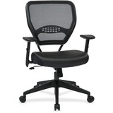 Office Star Dark Air Grid Back Managers Chair