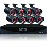 Night Owl 8 Channel Video Security System with 8 x 650 TVL Bullet Cameras