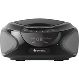 Ematic CD Boombox with Bluetooth Audio & Speakerphone EBB9224