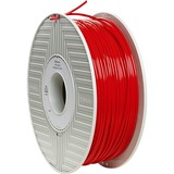 Verbatim PLA 3D Filament 3mm 1kg Reel - Red - TAA Compliant