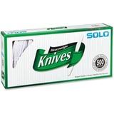 Solo Heavyweight Plastic Knives