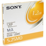 "Sony 5.25"" Magneto Optical Media EDM1200C"