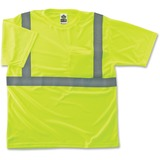 EGO21504 - GloWear Class 2 Reflective Lime T-Shirt
