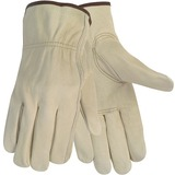 MCR Safety Economy Leather Large Driver Gloves