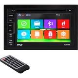 Pyle PLDNV66B Automobile Audio/Video GPS Navigation System - In-dash
