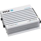 Pyle Elite PLMRA410BT Marine Amplifier - 400 W PMPO - 4 Channel - Class AB