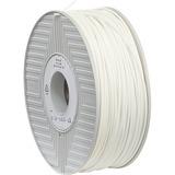 Verbatim ABS Filament 3mm 1kg Reel - White - TAA Compliant
