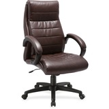 Lorell Deluxe High-back Leather Chair