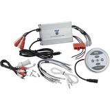 Pyle PLMRMBT7S Marine Amplifier - 1200 W PMPO - 4 Channel