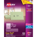 "Avery 1""x4"" Easy Peel Address Labels"
