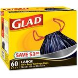 Glad Large Tie'n Toss Garbage Bags