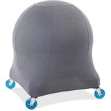 Posture Perfect Solutions Evolution Chair Ball Chair Grey Cozy Slipcover
