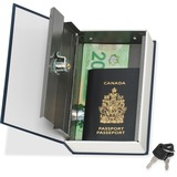 Merangue Metal Book Safe Box with Hidden Lock