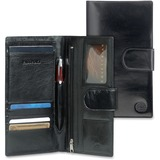 MANCINI EQUESTRIAN-2 Carrying Case (Wallet) for Passport, Credit Card, Ticket - Black