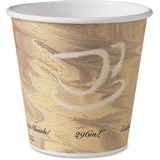 Solo Paper Hot Drink Cup Squat Mistique Design 10 oz