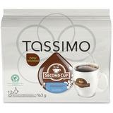 Tassimo Second Cup Paradiso Dark Coffee Pods - 12/Box